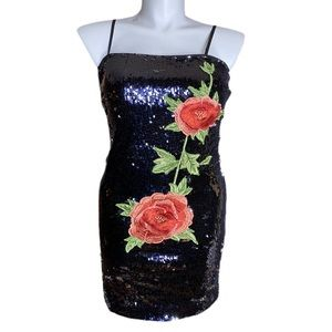 Forever 21 Sequin Dress After Dark Collection Plus